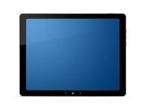 De digitale tablet van PC met het knippen van weg Stock Foto