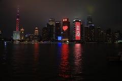 De dijk, Shanghai, China Royalty-vrije Stock Fotografie