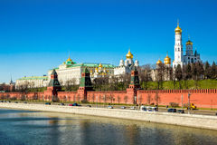 De dijk van het Kremlin royalty-vrije stock fotografie