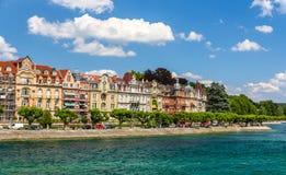 De dijk van Konstanz, Duitsland, baden-Wurttemberg Royalty-vrije Stock Afbeelding