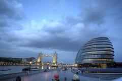 De dijk van Londen Stock Afbeelding