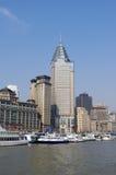 De Dijk van Shanghai Stock Foto