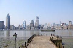 De Dijk van Shanghai Royalty-vrije Stock Afbeelding