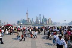 De Dijk van Shanghai Royalty-vrije Stock Foto's