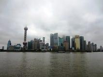 De Dijk van Shanghai Stock Fotografie