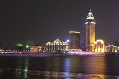 De Dijknacht van Shanghai Stock Foto's