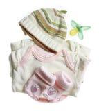 De dingen van de baby stock foto
