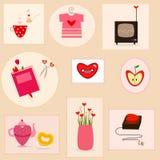 De dingen van de liefde Royalty-vrije Stock Fotografie