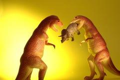 De dinosaurus neemt over royalty-vrije stock afbeeldingen