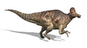 De Dinosaurus van Corythosaurus vector illustratie