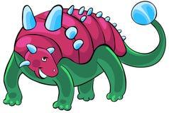 De dinosaurus van het beeldverhaal. Royalty-vrije Stock Foto's
