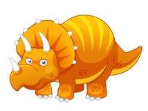 De dinosaurus van het beeldverhaal Stock Foto's