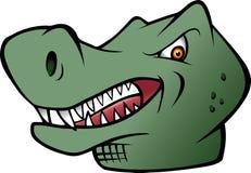 De dinosaurus van Rex van tyrannosaurussen Stock Afbeelding
