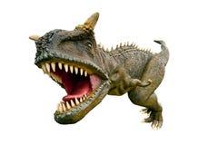 De dinosaurus van tyrannosaurusrex stock foto's