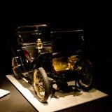 De Dion Bouton 3 5-HP Vis-a-vis przy Louwman muzeum fotografia royalty free