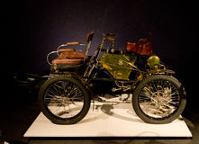 De Dion Bouton Quadricycle no museu de Louwman Imagens de Stock