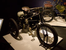 De Dion Bouton Tricycle an Louwman-Museum Stockbild