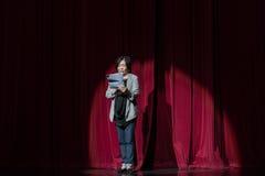 """De directeur zat over--jiangxi opera""""four dromen van linchuan† voor Royalty-vrije Stock Afbeelding"""