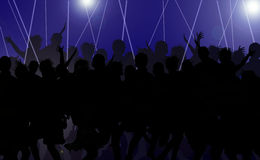 De disco ontspant Royalty-vrije Stock Afbeeldingen