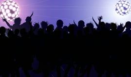 De disco ontspant Stock Afbeelding