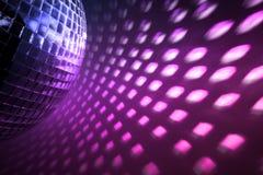 De disco steekt achtergrond aan royalty-vrije stock afbeelding