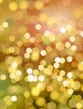 De disco steekt achtergrond aan - sinaasappel & geel Stock Illustratie