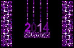 de discoachtergrond van 2014 Stock Afbeeldingen