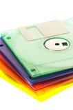 De diskette van Coulorfull stock afbeelding