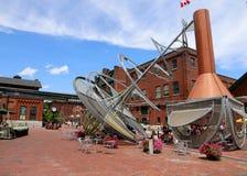 De distilleerderij van Toronto stock afbeeldingen