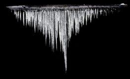 De distributie van Gauss van ijskegels Royalty-vrije Stock Afbeelding