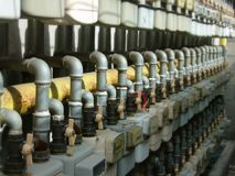 De distributie van het gas Royalty-vrije Stock Foto's