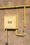 De distributie van het gas Stock Afbeelding