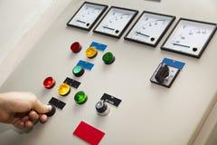 De Controle & de Monitor van de elektriciteit royalty-vrije stock afbeeldingen