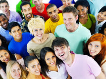 De diverse Samenhorigheid Team Community Concept van Mensenvrienden Stock Afbeeldingen