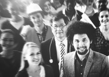 De diverse Samenhorigheid Team Community Concept van Mensenvrienden Stock Fotografie