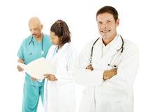 De Diversiteit van de arts stock afbeelding