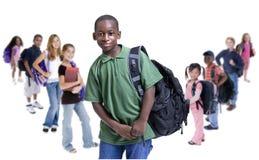 De Diversiteit van de Jonge geitjes van de school Stock Foto's