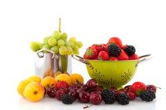 De diversiteit van het fruit Stock Afbeeldingen