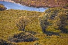 ² de Doberdà del lago karst, Italia Foto de archivo libre de regalías