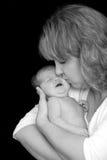 De Dochter van de moeder stock afbeeldingen