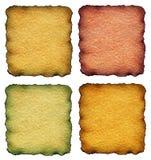 De documenten van de kleur Stock Foto