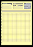 De documenten van de nota voor uw organisatie Royalty-vrije Stock Afbeelding