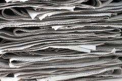 De documenten van het nieuws textuur Royalty-vrije Stock Afbeelding