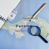 De documenten van Panama Stock Foto's