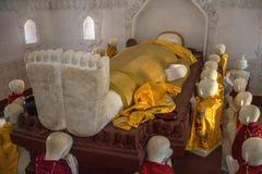 De dode Tempel van Boedha - Kakku-- Myanmar Royalty-vrije Stock Foto's