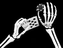De doden bemannen hand Stock Afbeelding