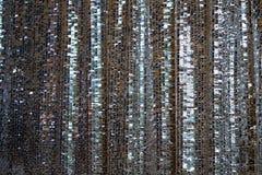 De doek met een verzilverd tafelgerei in het patroon, glanste met het licht om het kleden of gordijn te maken zich royalty-vrije stock foto's