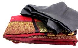 De doek van het handweefgetouw Royalty-vrije Stock Foto's