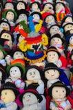 De doekpoppen van kinderen Stock Afbeelding