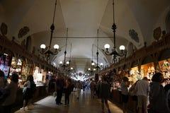 De de Doekzaal van Krakau stock fotografie